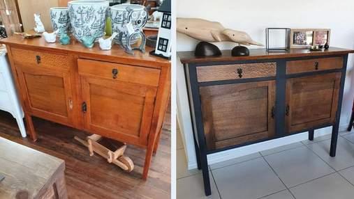 7 реальних прикладів, як люди змінили свої старі меблі до невпізнання: фото до  і після