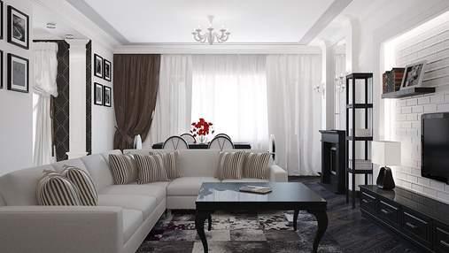 Картины и кривая мебель: дизайнеры назвали 7 трендов в интерьере гостиных