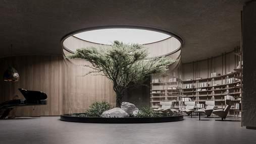 План Б: украинские архитекторы создали проект инновационного дома на глубине 15 метров – фото