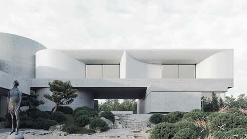 Viter House – новый дом под Киевом, вдохновленный стихиями: фото проекта Сергея Махно