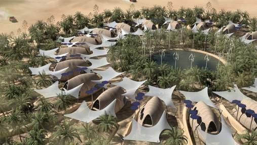 Выжить после изменения климата: архитекторы разработали концепцию поселения в пустыне