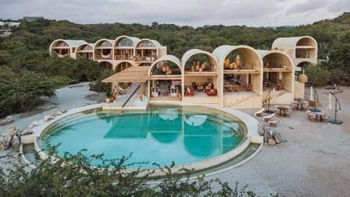 Невероятный арочный отель в Мексике – место, где точно надо побывать: фото