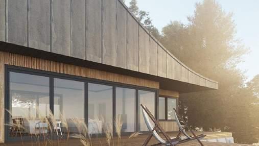 """Как выглядит """"космический дом"""" для аренды под Львовом: фото"""