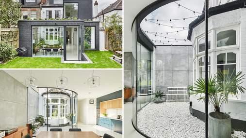 Современная перепланировка создала уникальный дизайн лондонского дома: фото
