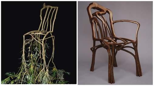 Британский биодизайнер выращивает мебель прямо на деревьях: невероятные фото, видео