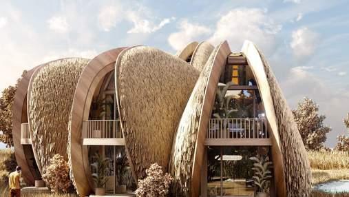 У Коблево з'являться будинки, що схожі на мідію: фото вражаючого проєкту