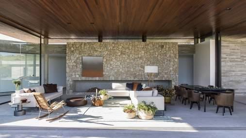 Як використати природний камінь в оздобленні дому: фотоприклади