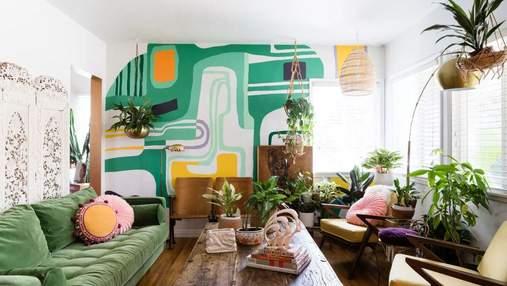 10 зеленых гостиных: с какими цветами совместить для достижения гармоничного контраста