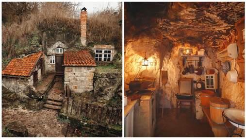 Лише молотком і зубилом: як німецькі селяни у ХІХ столітті вирізали житло у печерах