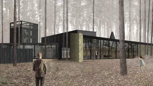 Идеальное место для отдыха: проект семейного загородного дома под Харьковом