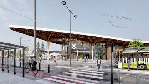 Студент зі Львова створив сучасний концепт автостанції: він готовий подарувати проєкт місту