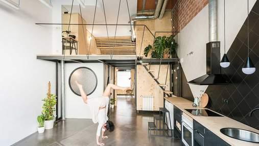 Квартира в Мадриді, що вражає своєю функціональністю: фото