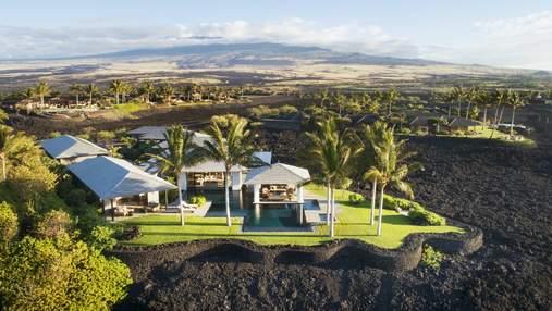 Вілла в Гаваях, розташована на застиглій лаві: фото, від яких перехоплює дух