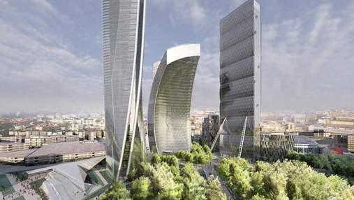 Амбициозная недвижимость: проект масштабных башен в Милане