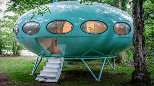 Отдохнуть в космическом корабле: футуристический дом 1960-х годов