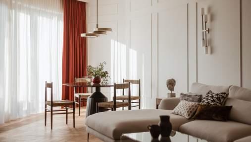 Как создать стильную и современную классику в интерьере: пример апартаментов в Варшаве