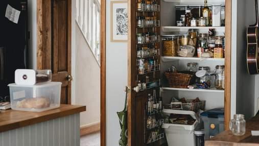 Як організувати зберігання на кухні, затративши мінімум простору: практичні ідеї комор