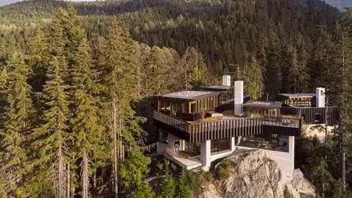 Над пропастью: идеальное место для отдыха на канадском горном курорте