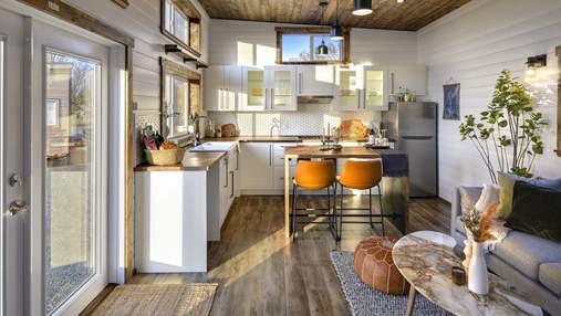 Семья переехала в мобильный дом площадью 49 квадратов: преимущества крошечного жилья