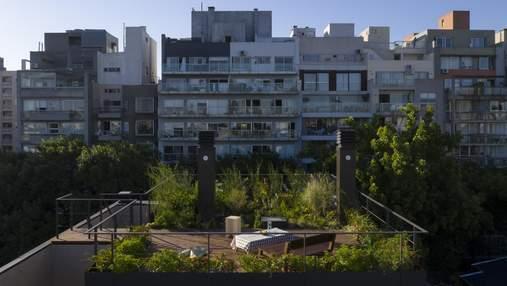 Как увеличить площадь квартиры в 2 раза: лаконичная пристройка на крыше в Буэнос-Айресе
