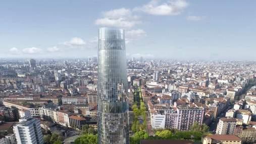 """Скляна сучасність: у Мілані """"виросте"""" неймовірна офісна вежа"""