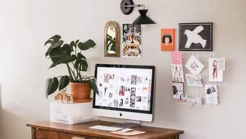 Домашний офис в спальне: 15 компактных идей для вдохновения