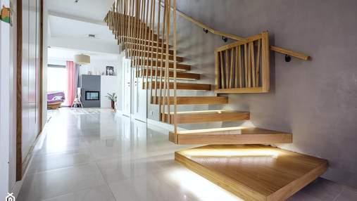 Освітлення сходів: яке обрати та про що варто пам'ятати