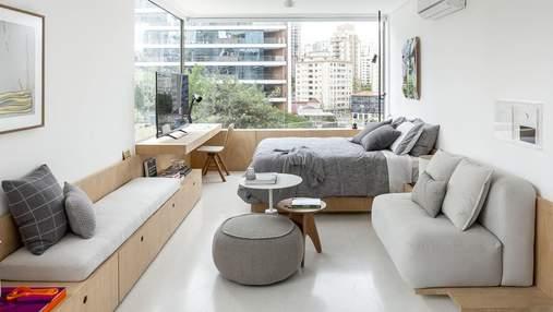 37 квадратних метрів та максимум функціональності: як виглядає однокімнатна квартира студента