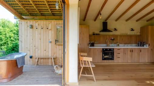 Камень, дерево, бамбук: как использовать природные материалы в интерьере
