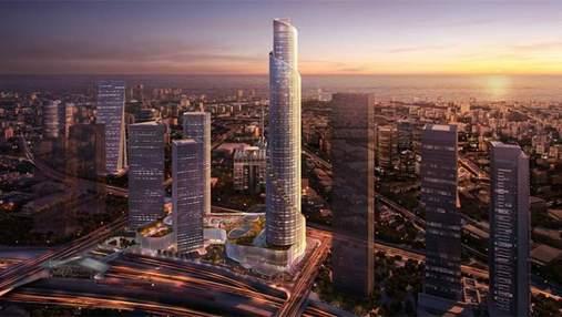 Жемчужина Ближнего Востока: каким будет самый высокий небоскреб Израиля за 700 миллионов