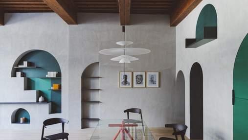 Шикарное перевоплощение квартиры 17 века во Франции