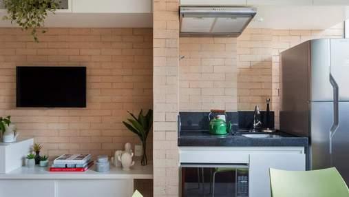 Как обустроить дом на 27 квадратных метрах: яркий образец крошечной квартиры