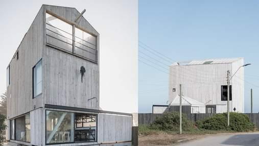 110 квадратних метрів для 4-х сімей: як виглядає компактна пляжна резиденція в Чилі