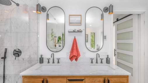 Как освежить ванную комнату: 10 оригинальных зеркал для любого стиля интерьера