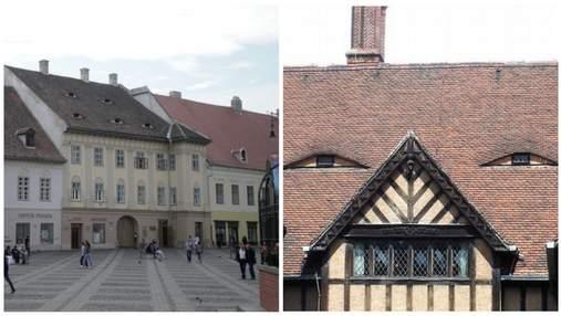 Дома с подозрительными глазами:как старая архитектура Румынии стала символом борьбы с коррупцией