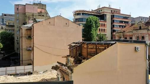 КМДА зупинила руйнування історичного будинку Маліна