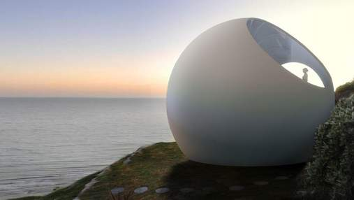 Дизайнерское изобретение: круглый дом, который адаптируется к любому климату и ландшафту