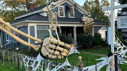 Мужчина создал гигантский скелет, удивив соседей и соцсети: фото чуда