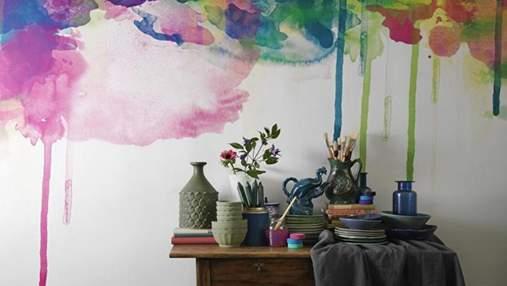 Как будто полотно художника: яркие идеи для декора стен