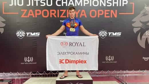 Камины и спорт: представитель электрокаминов TM Dimplex и TM Royal развивает спорт в Украине