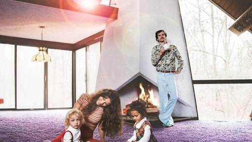 Шалене ретро та фіолетовий килим: пара придбала будинок, фото якого підірвали мережу